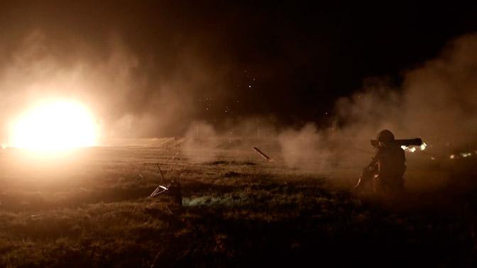 Реактивный огнемет «Шмель»