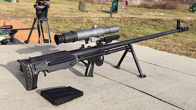 Армейская снайперская винтовка крупнокалиберная «Корд»